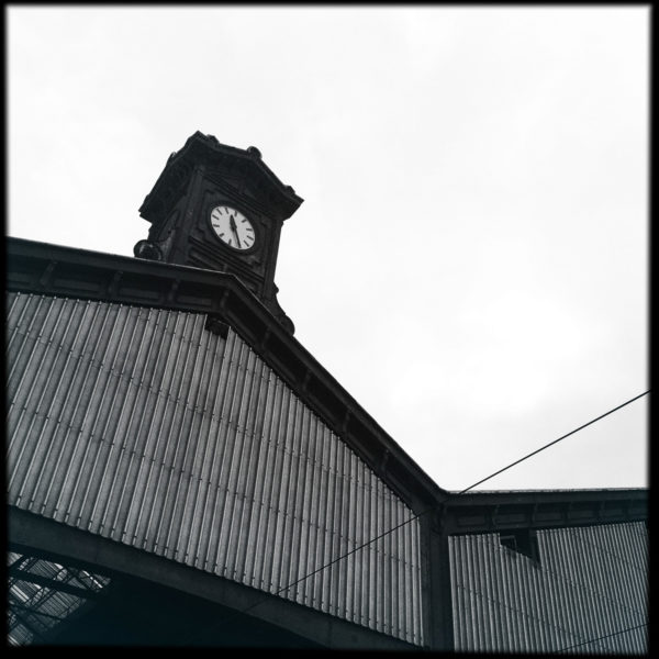 L'iconique clocheton de la gare (côté quais).