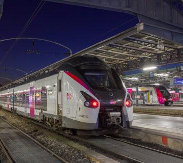 Rame Regiolis Coradia en gare de Paris-Est