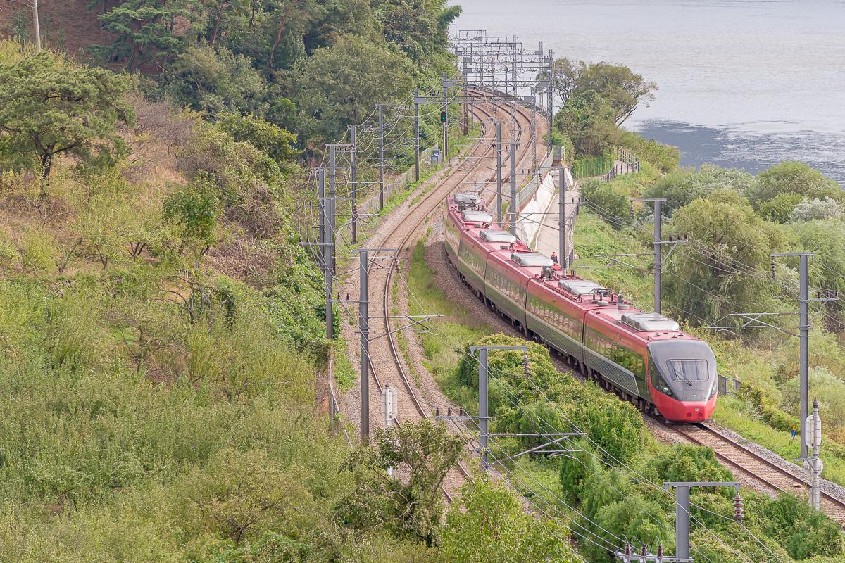 Train classique ITX assurant une relation Busan - Séoul