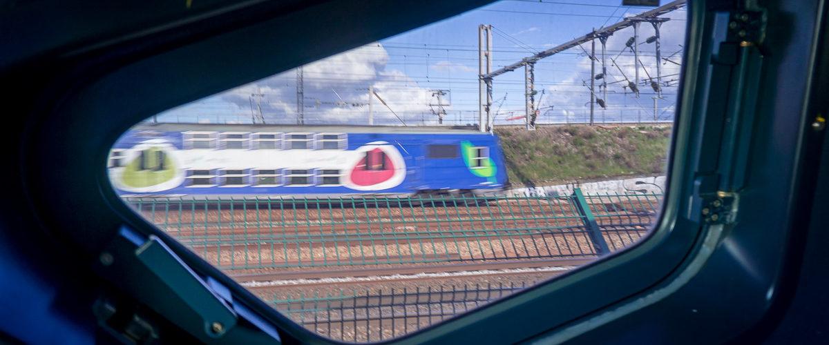 Par la fenêtre du TGV (Juin 2014)