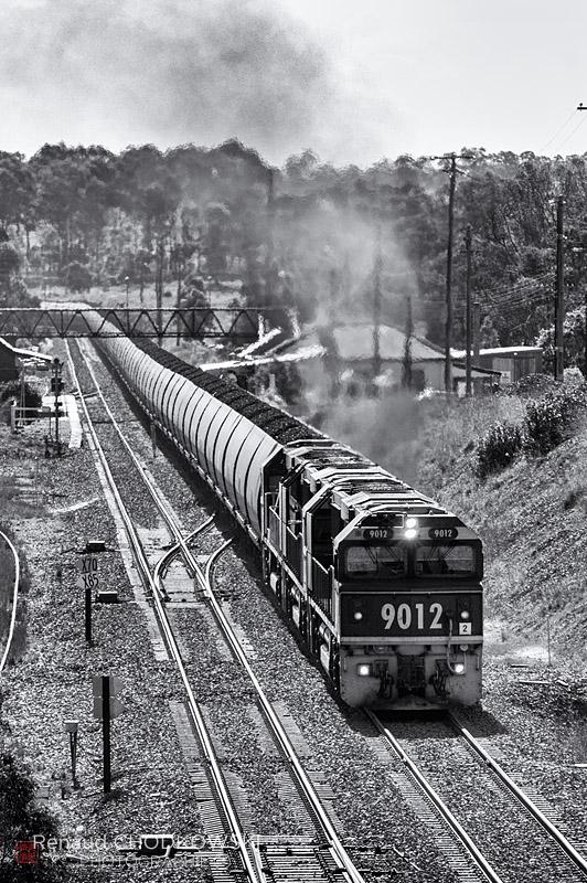 Les class 90 (EMD GT46CMW) ont été construites pour la traction des lourds trains de charbon de la Hunter Valley.
