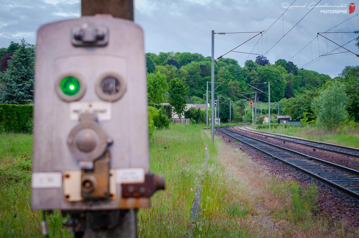 Le signal de sortie de la gare est ouvert, je vais pouvoir me mettre en marche !