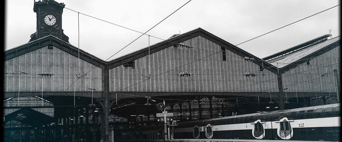 La silhouette caractéristique de la gare.