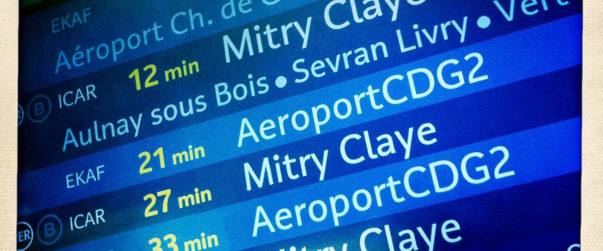 Choisissez votre destination (Octobre 2011)