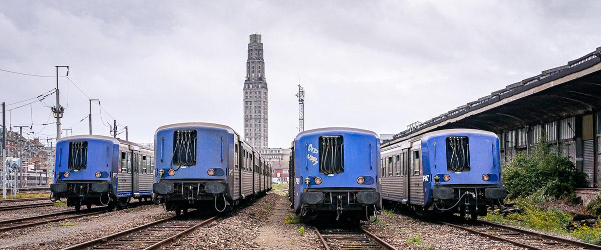 Sous le regard gris de la tour Perret (Amiens, Septembre 2014)